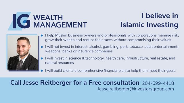 Jesse Reitberger - Islamic Investing