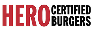 Hero Certified Burgers Logo