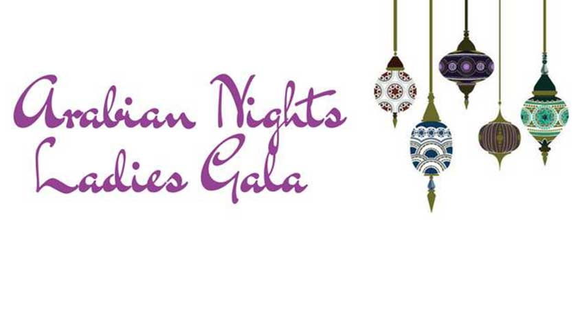 Girlz Nite Out Arabian Nights Ladies Gala