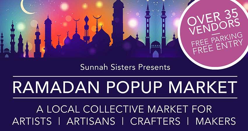Sunnah Sisters Ramadan Pop Up Market