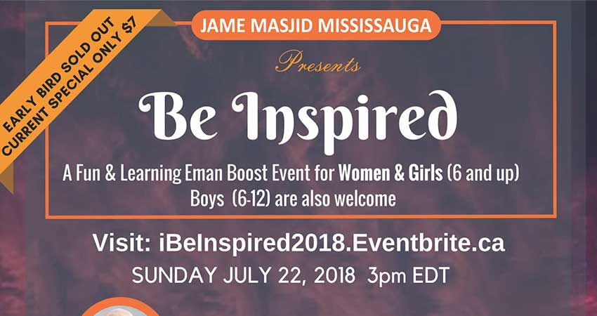 Be Inspired: Eman Boost for Event for Women and Girls