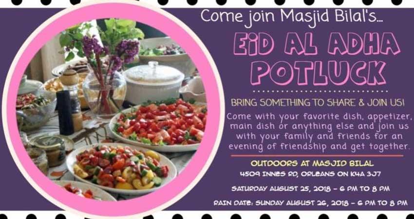 Masjid Bilal Eid Potluck Dinner