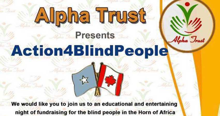 Alpha Trust presents Action for Blind People in Somalia