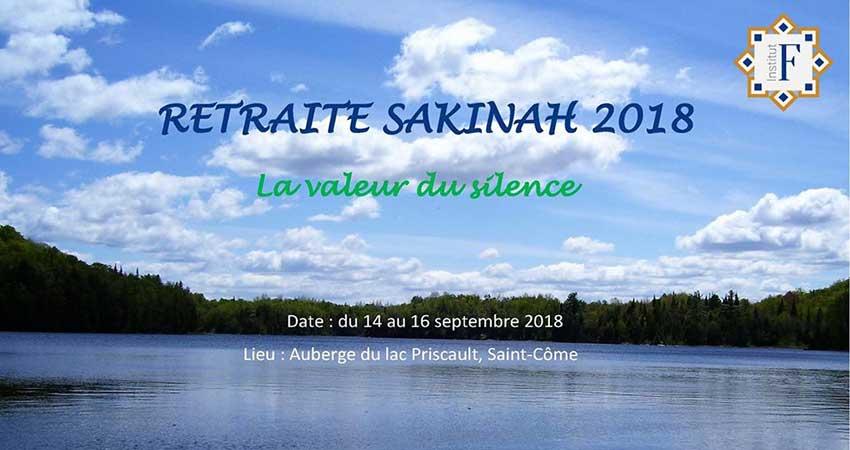 Institut F - F Institute Retraite Sakinah 2018