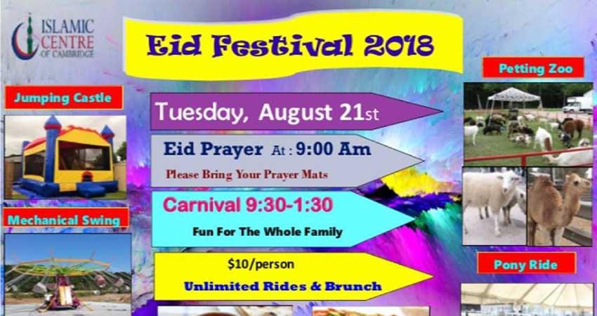 Islamic Centre of Cambridge Eid Carnival