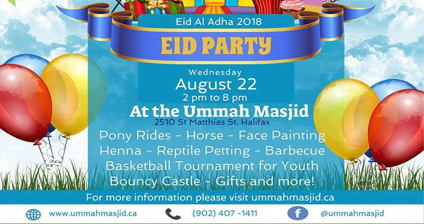 Ummah Masjid And Community Center Eid Al-Adha 2018 Party