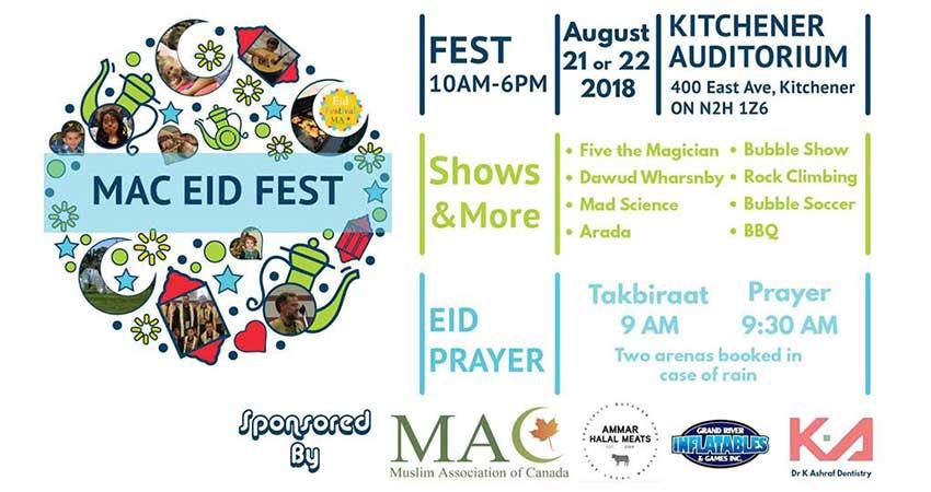 MAC Eid al-Adha Festival 2018