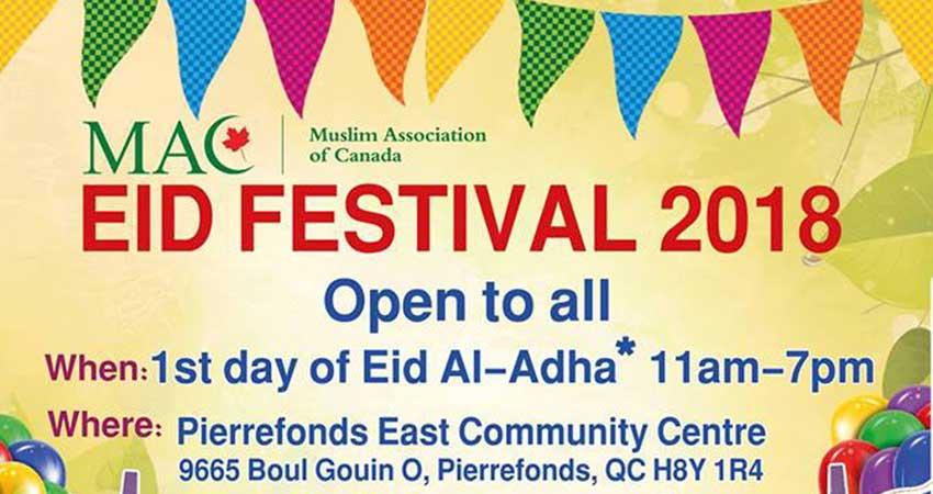 MAC Eid Al-Adha 2018 Festival
