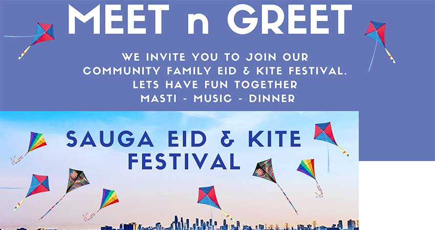 Meet n Greet Sauga Eid and Kite Festival