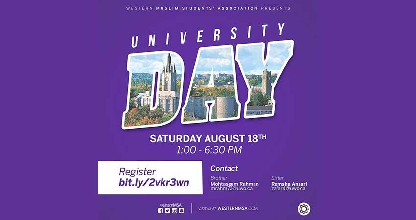 Muslim Students' Association - Western University University Day
