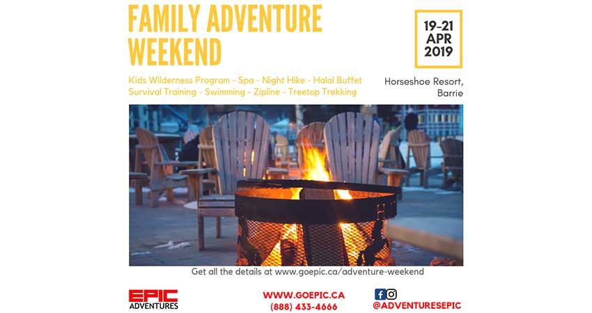 Epic Adventures Family Adventure Weekend!