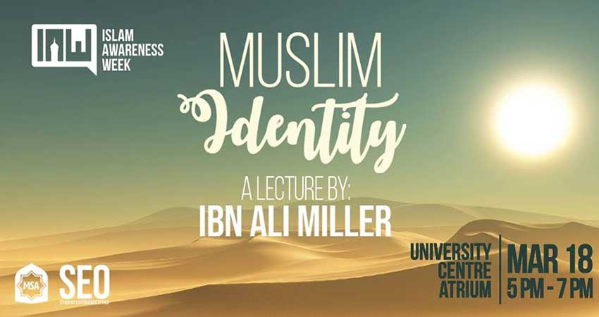 Carleton University Muslim Students Association Ibn Ali Miller on Muslim Identity