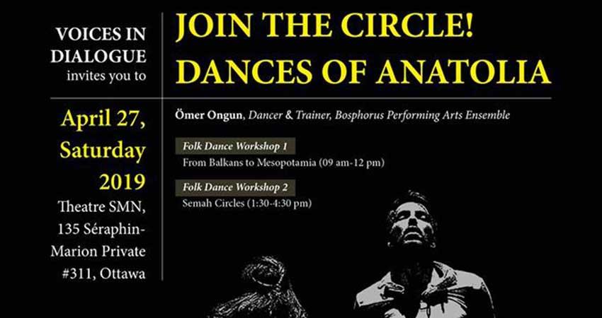 Learn Folks Dances of Anatolia: Halay, Semah Circles
