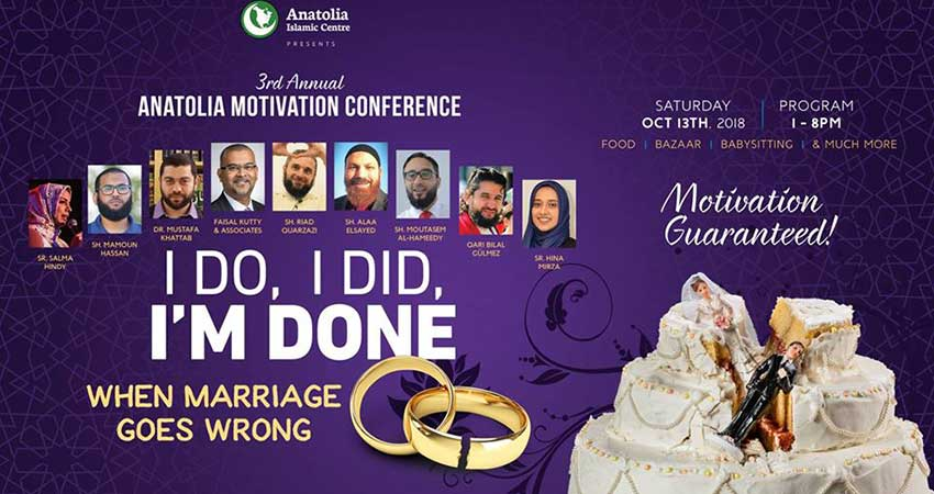 Anatolia Motivation Conference: When Marriage Goes Wrong