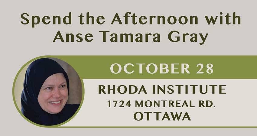 Sanad Collective Spend the Afternoon with Anse Tamara Gray