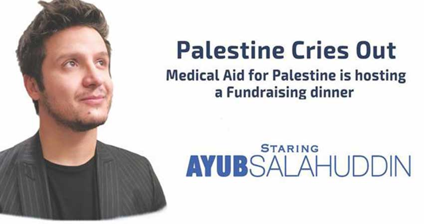 Medical Aid for Palestine Palestine Cries Out with Mohammed Assaf and Ayub Salahuddin