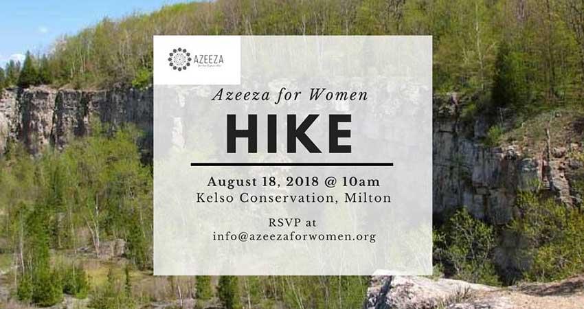Azeeza for Women: Wellness Walk - August
