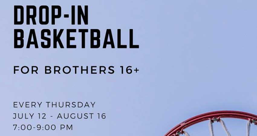 Brothers Basketball Drop-In Ages 16 and up