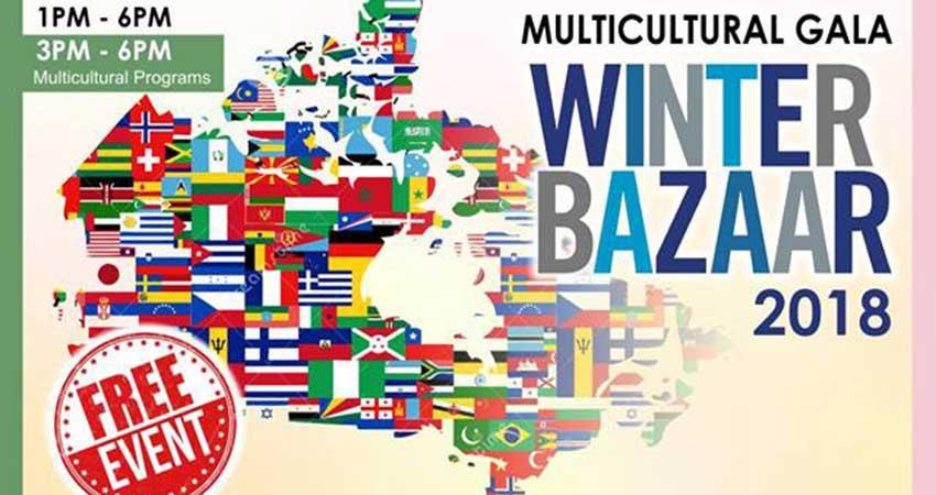 Multicultural Gala and Winter Bazaar