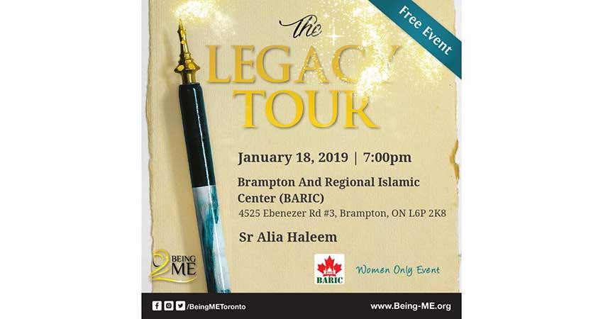 Being ME Toronto Presents - The Legacy Tour (Brampton)