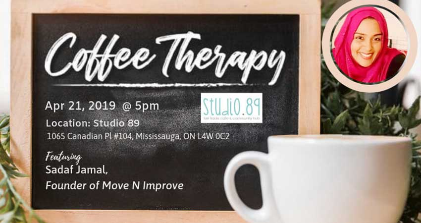 Being ME Muslimah Empowered Toronto Coffee Therapy - Let's Chat Revving Up For Ramadan with Sadaf Jamal