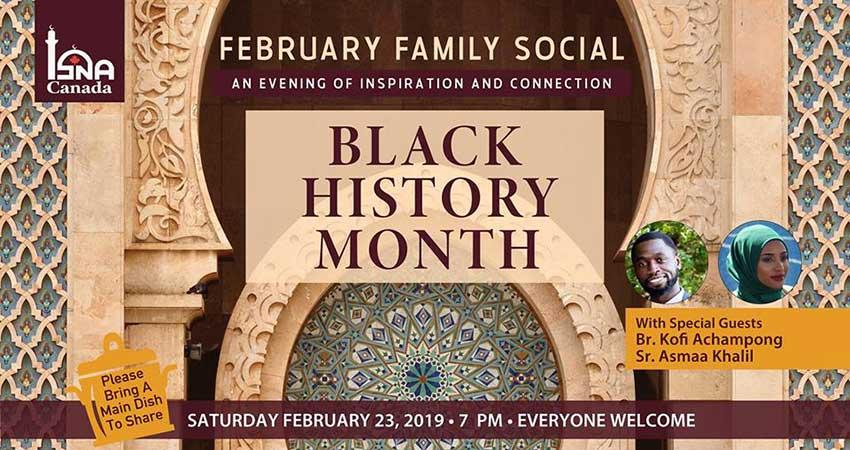 ISNA Canada February Family Social: Black History Month