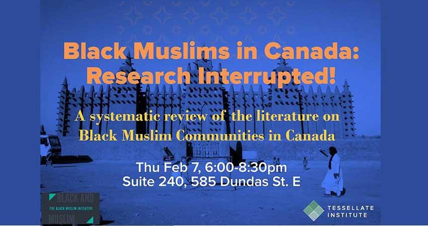 Black Muslims in Canada: Research Interrupted