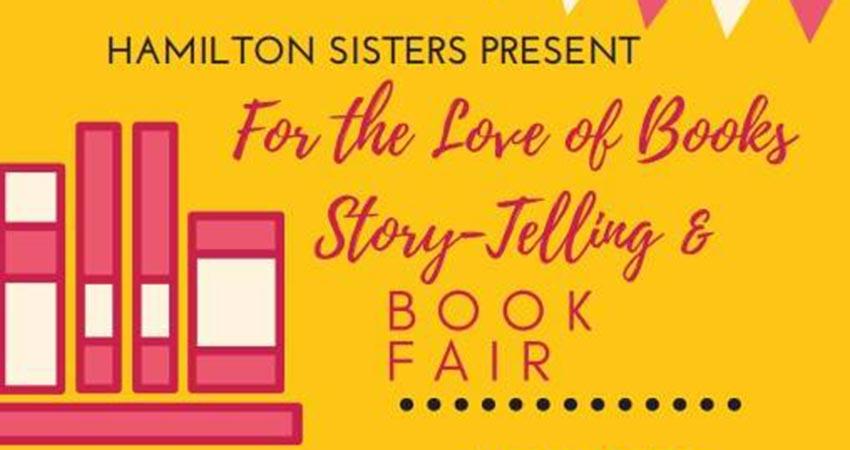 For the Love of Books Storytelling Book Fair