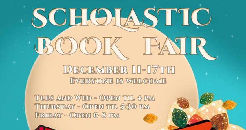 Niagara Islamic School Scholastic Book Fair