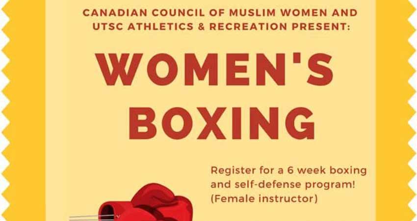Sister Fit Women's Boxing & Self-Defense Starts January 28