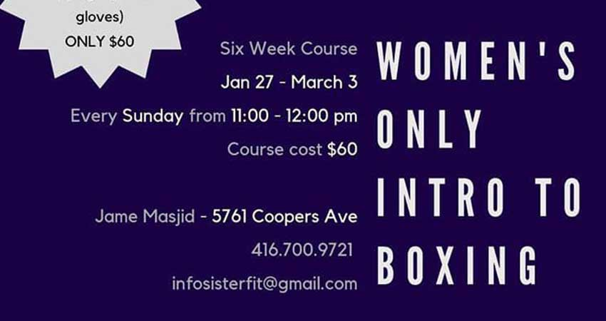 Intro to Boxing for Women with Sister Fit