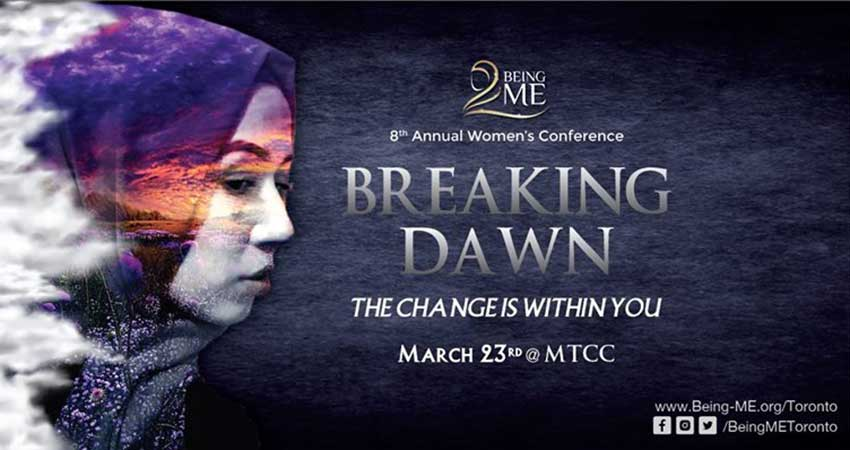 Being ME Toronto Conference 2019 Breaking Dawn