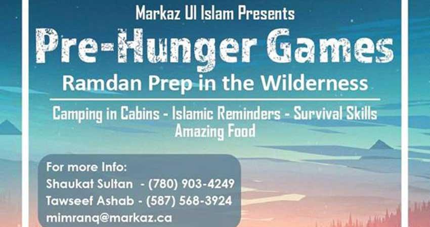 Markaz ul Islam & Momintum Boys Spring Camp (April 19 to 21)