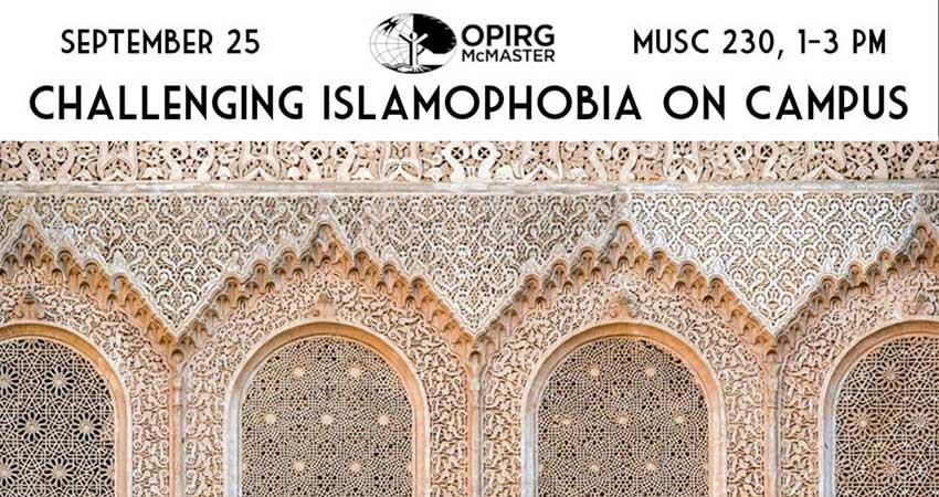 Challenging Islamophobia On Campus