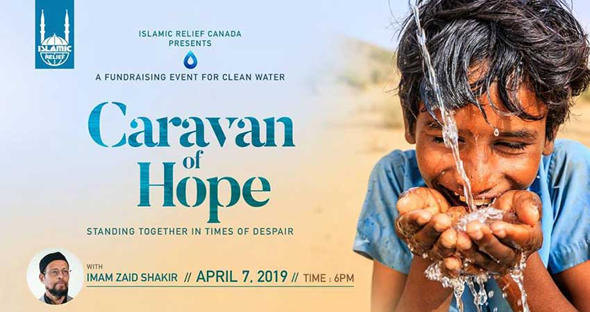Islamic Relief Canada Caravan Of Hope · Fundraising for Water With Imam Zaid Shakir