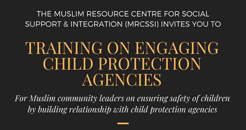 Training on Engaging Child Protection Agencies for Muslim Community Leaders