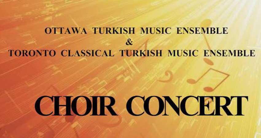 Turkish Music Ensemble Choir Concert