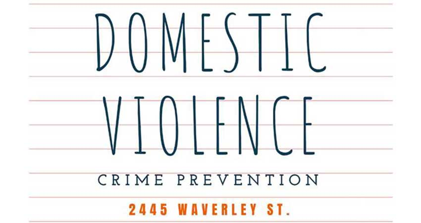Domestic Violence Crime Prevention Session