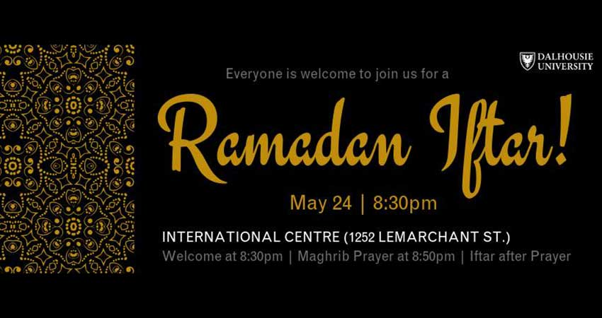 Dalhousie International Centre Ramadan Iftar