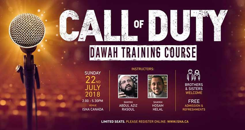 ISNA Canada Dawah Training Course