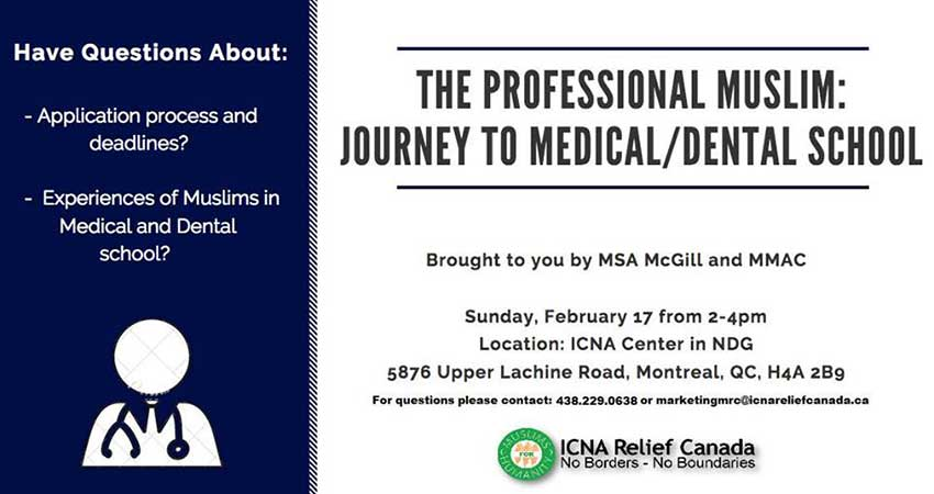 ICNA Montreal The Professional Muslim