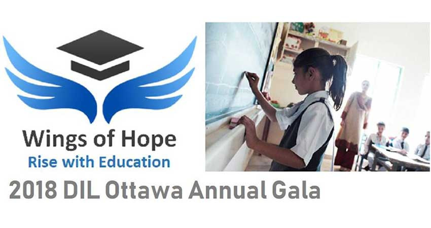 2018 DIL Ottawa Annual Gala: Fundraiser for Schools in Pakistan
