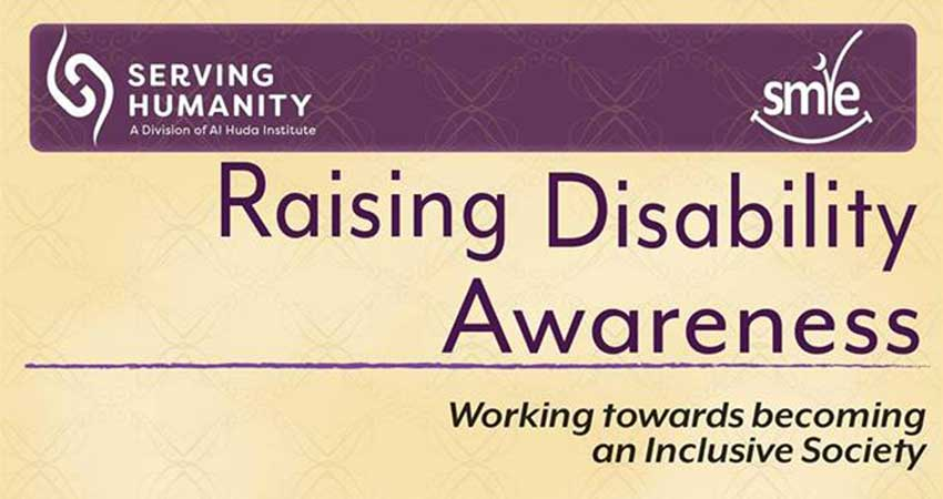SMILE and Serving Humanity Raising Disability Awareness