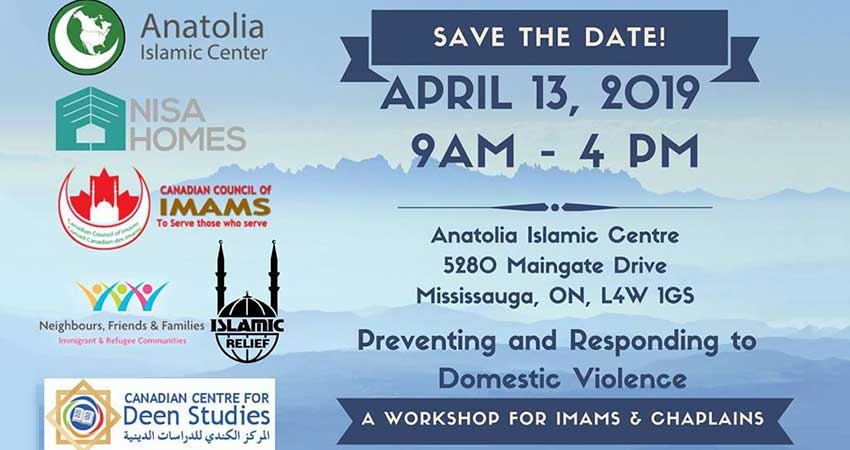 Preventing and Responding to Domestic Violence: A Workshop for Imams and Chaplains