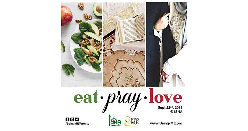 Eat - Pray - Love, An event by Being ME Toronto