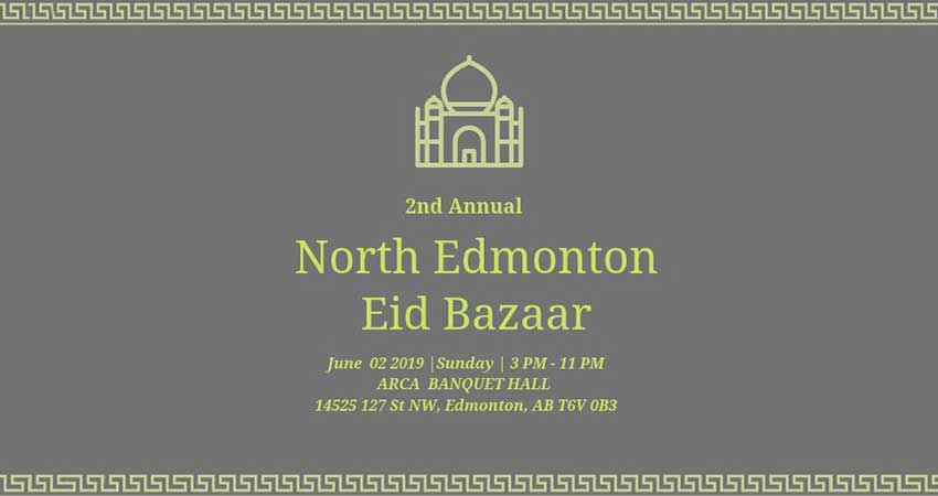 North Edmonton Eid Bazaar