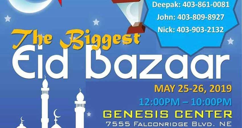 The BIGGEST Eid Bazaar at Genesis Centre