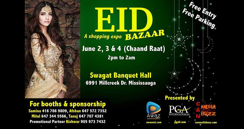 Eid Bazaar at Swagat Banquet Hall