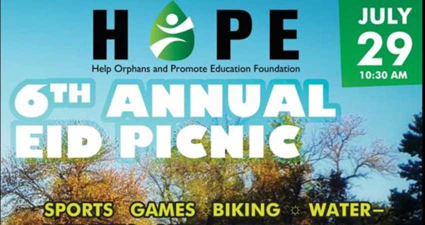 HOPE Foundation Eid Picnic