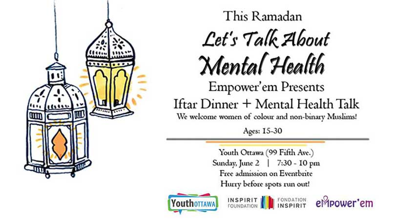 Empowerem Let's Talk About Mental Health Iftar